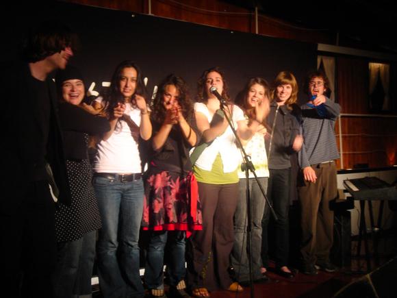 La gang des chemins d'écriture 2008 en spectacle